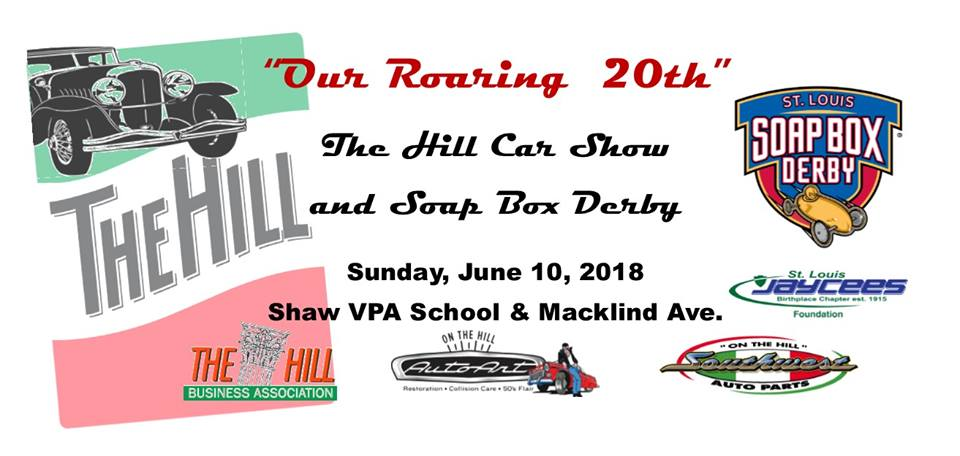 Annual Hill Soap Box DerbyCar Show The Hill Saint Louis - St louis car shows