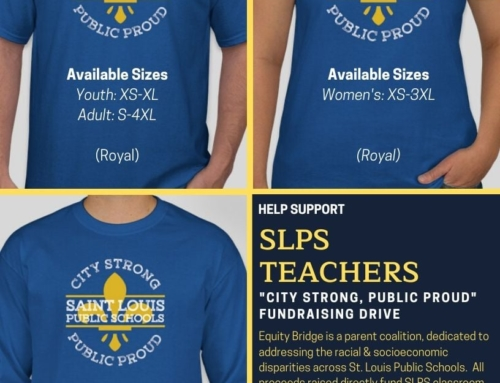 "Support Equity Bridge's ""City Strong, Public Proud"""