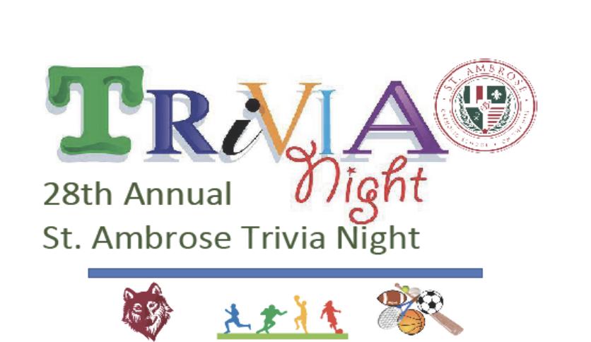28th Annual St. Ambrose Trivia Night