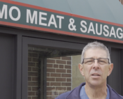 Imo Meat and Sausage video title frame